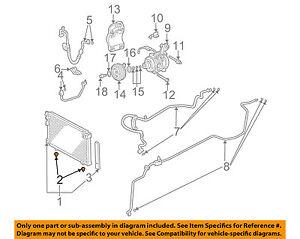 HONDA OEM A//C AC Condenser//Compressor//Line-Condenser Lower Insulator 80175SE0000