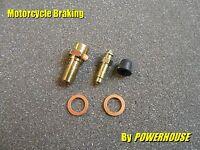 M10 1.0 mm Banjo Bolt & Bleed Screw Radial Brembo Caliper Aprilia KTM Ducati