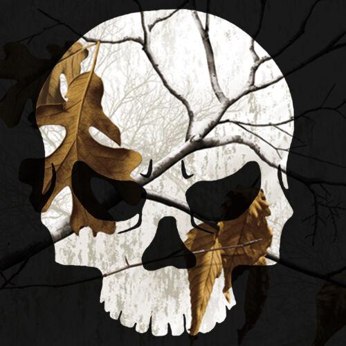 Skull Sticker Camouflage Vinyl Skull Decal
