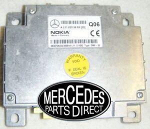 Mercedes-E-Klasse-E270-CDI-4DR-Auto-Nokia-Telefon-Steuereinheit-A2118703826