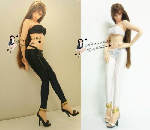 "1:6 Scale Black Bra+Thong Pants Underwear+Leggings Set F12/"" PH HT Female Doll"