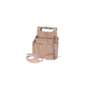 Ideal 35-311 Tuff-Tote Standard Leather Tool Pouch w  Strap