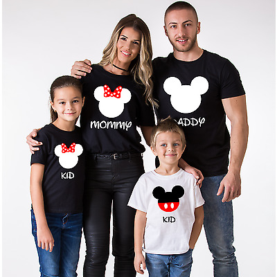 Family Vacation Shirts Daddy Mommy Baby Kid Couple T-Shirt Love Matching Clothes