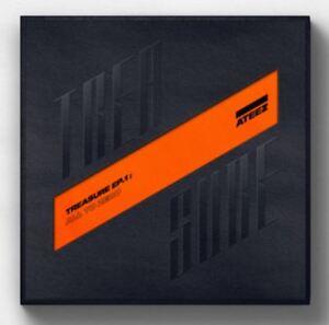 K-POP-ATEEZ-Album-TREASURE-EP-1-All-To-Zero-1-Photobook-1-CD-Free-Ship