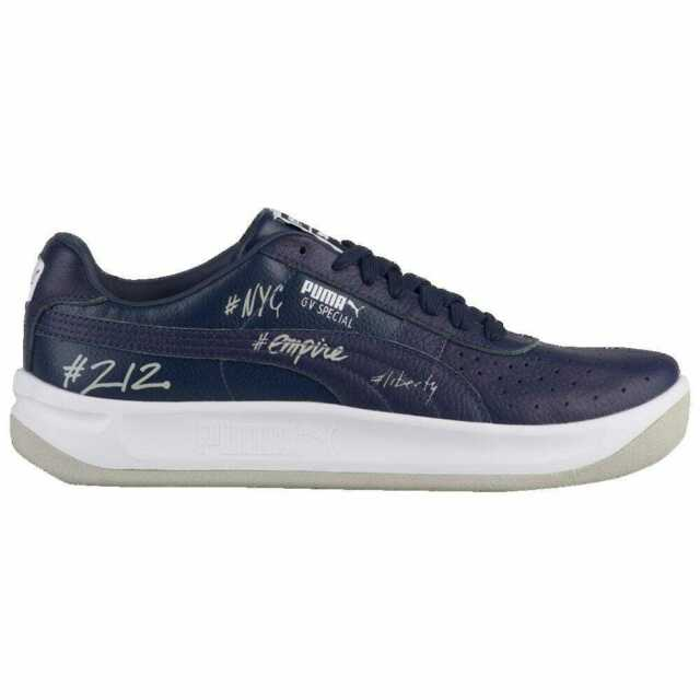buy online 973a7 13e5d PUMA GV Special + Peacoat/White/Grey | New York City Men's 6836401