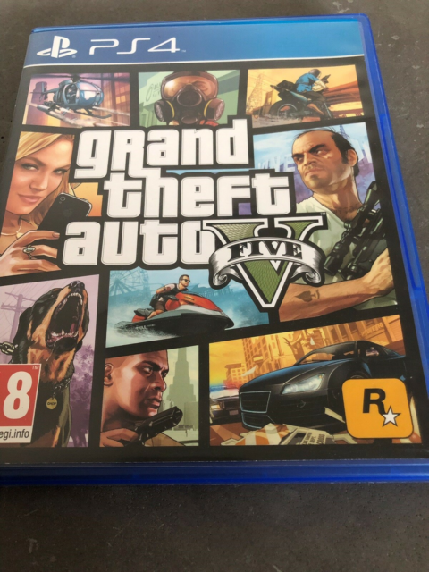 GTA 5, PS4, action