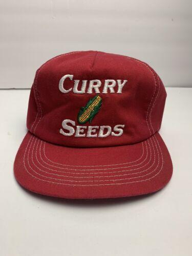 VTG Curry Seeds Trucker Hat K Products Farm Farmin