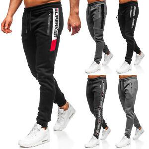 Trainingshose Jogger Sporthose Casual Fitness Classic Herren Mix BOLF 6F6 Motiv