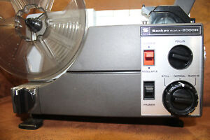 SUPER-8-and-STANDARD-8mm-SANKYO-2000H-DUAL-8mm-SILENT-MOVIE-PROJECTOR-100w-Lamp