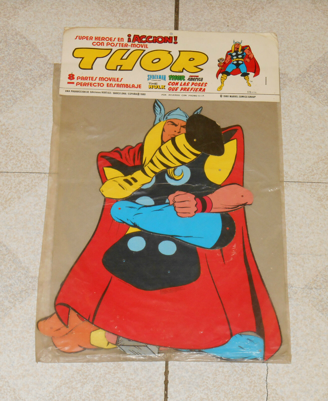 Jahr Spanish THOR jointed decoration in Verpackungage