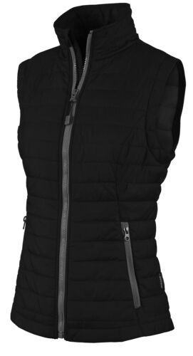 POCKETS QUILTED VEST XS-3XL PACKABLE INSULATED LADIES ULTRA LIGHTWEIGHT