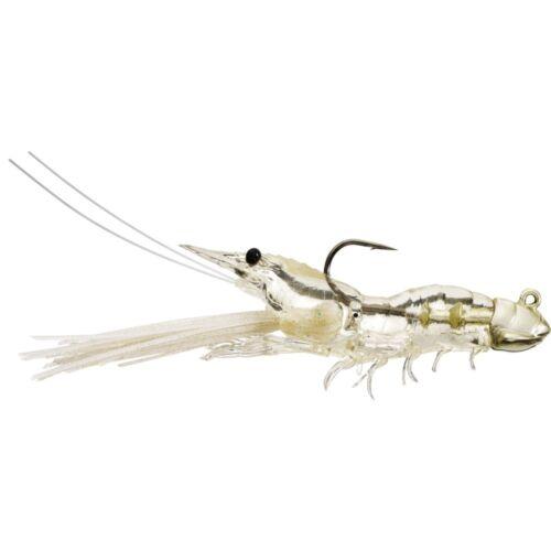 Live Target SSJ fuient crevettes plastique souple Jigs 70-85 mm
