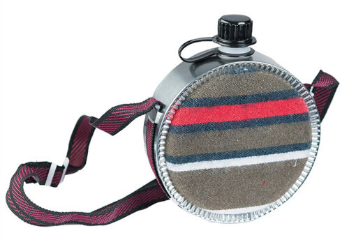 Mil-Tec Western Feldflasche Filzbezug Trinkflasche Wasserflasche Flasche 0,75l