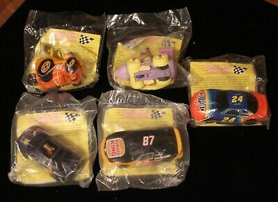 "Cartoon Network  Wacky Racing  /""Complete Set/""  NIP Burger King 1997"