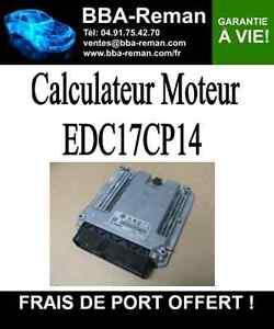 r paration calculateur moteur bosch edc17cp14 audi a3 2 0l tdi cr ebay. Black Bedroom Furniture Sets. Home Design Ideas