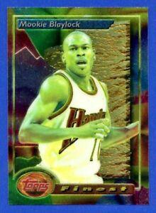 0dbadfa48 1993-94 Mookie Blaylock Atlanta Hawks  135 Topps Finest Basketball ...