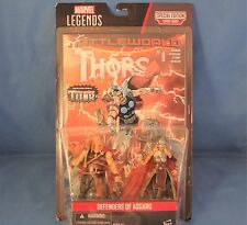 Marvel Legends Series Thor Odinson Defenders of Asgard Figures and Comic Book