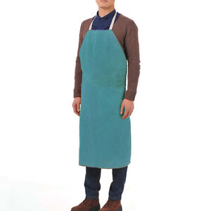Leather Welding Apron Heat Resistant Safety Bib Overalls Brand New