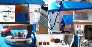 Ferro-da-stiro-professionale-a-vapore-TAC-3-5-L-con-piano-riscaldato-e-aspirante