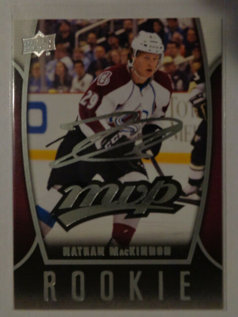 2013-14 Upper Deck MVP Rookie Nathan MacKinnon #80
