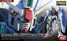 Gundam GP01 Zephyranthes RG 12 Real Grade 1/144 Model Figure Kit Bandai Seed