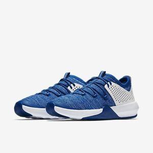 Nike-Air-Jordan-UK-Size-9-Mens-Trainers-Blue-White
