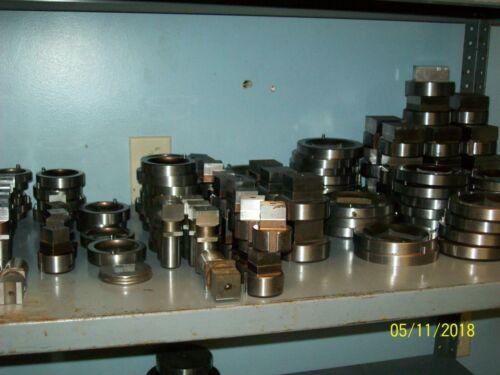 "1 .010 7//8/"" .875 inch Turret Punch Press /& Die Set MATE Square  SET .875"