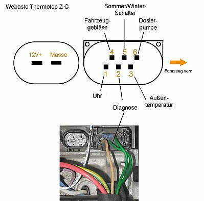 Webasto Thermo Top Z C Wiring Diagram. . Wiring Diagram on