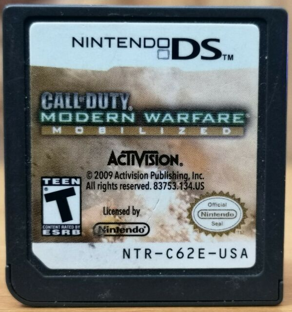 Call of Duty Modern Warfare Mobilized (Nintendo DS, Activision) * Disk only T