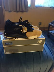 designer fashion 42eba 568ee Details about New Balance Premier M998PRMR 998 PRMR Sz 10.5 Black Tan