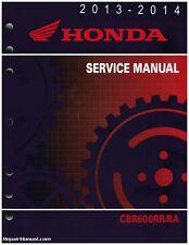 2013-2016 Honda CBR600RR RA Motorcycle Service Manual : 61MJC03