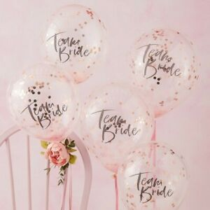 TEAM-BRIDE-CONFETTI-BALLOONS-FLORAL-HEN-PARTY-Hen-Night-Backdrop-Decoration