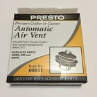 Presto Pressure Cooker & Canner Automatic Air Vent 09911 Original Brand New!