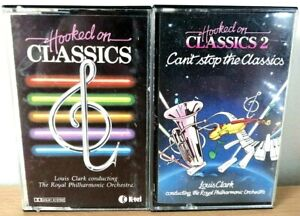 Hooked On Classics 1 & 2 Cassettes Bundle Of 2 Cassettes Louis Clark Collectable