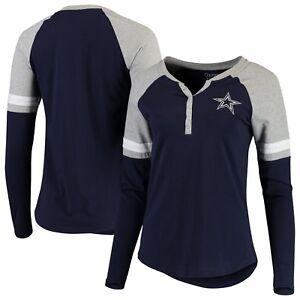 Nilly Henley Raglan Long Sleeve T-Shirt