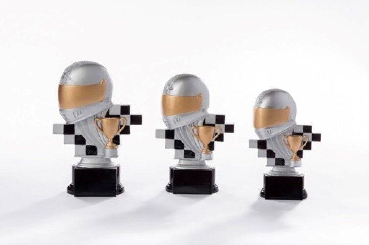 Motorsport  Moto Cross Pokal mit Gravur einzeln einzeln einzeln oder als 3er Serie 3e594b