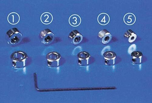 Actionneur Krick Anneaux 5 mm tête cylindrique//6 Kant 5x//50496