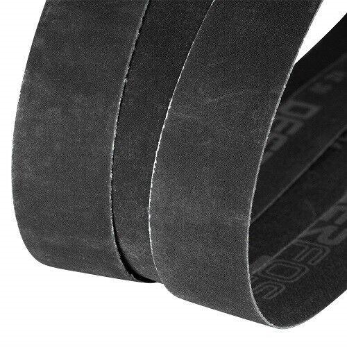 "X 30 in 1 in Premium Silicon Carbide Fine Grit Sanding Belts Assortment 1/""x30/"""