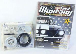 Ford-Mustang-1967-Shelby-GT-500-De-Agostini-Seconda-Uscita-Auto-Modellino-Ruota