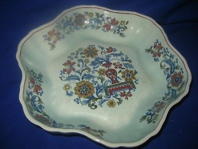 Pottery, Porcelain & Glass Blue Calyx Ware China Adams Wedgwood Group Serving Dish