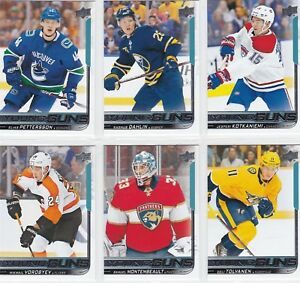 2018-19-UD-Series-1-Young-Guns-Rookie-Cards-U-Pick-FREE-COMBINED-SHIPPING