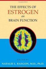 The Effects of Estrogen on Brain Function
