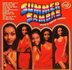 DUNCAN-LAMONT-summer-sambas-MFP-50080-uk-music-for-pleasure-LP-PS-VG-EX