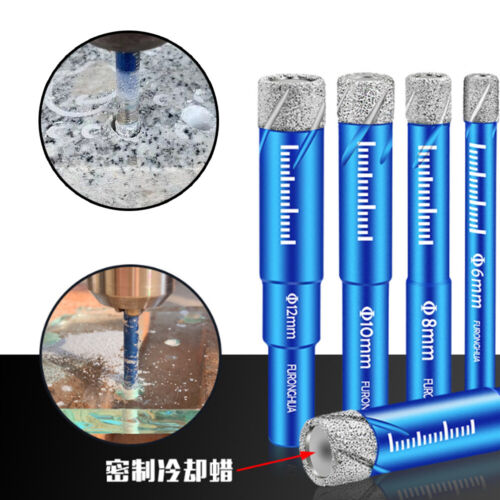 Diamond Dry Core Drill Bits Welded Saw for Glass Granite Porcelain Tile Marble