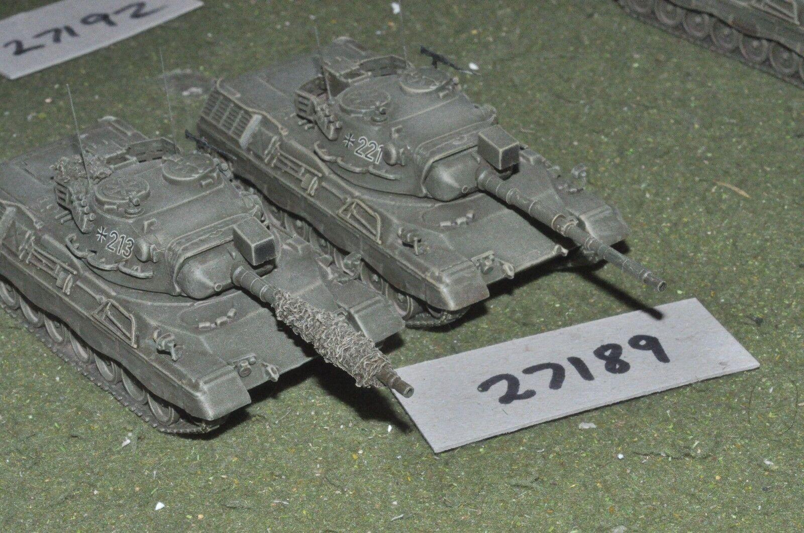 20mm modern   german - 2 tanks - vehicles (27189)