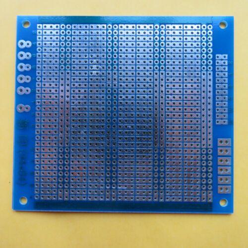 2pcs Stripboard 8.4x9.4cm 3er joint hole Prototype Fiberglass circuit board pcb