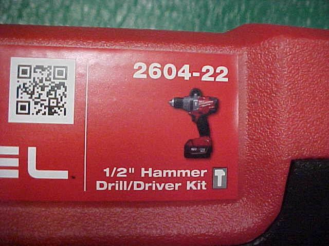 NEW Milwaukee M18 Fuel Hammer Drill/Driver Case (CASE ONLY) - 2604-22