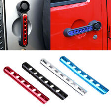 Universal Durable Door Handle Cover Decal Parts Accessories For Jeep Wrangler 10 Fits Jeep Wrangler Unlimited
