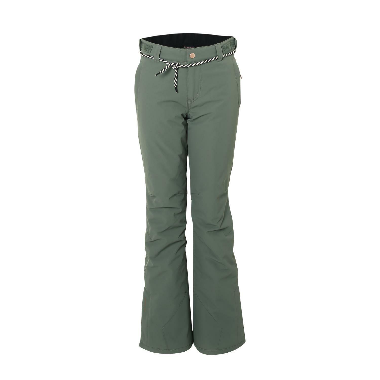 Bcorrereotti Sci Snowtavola Pantaloni sunleaf JR Girls Snowpants verde vento di tenuta