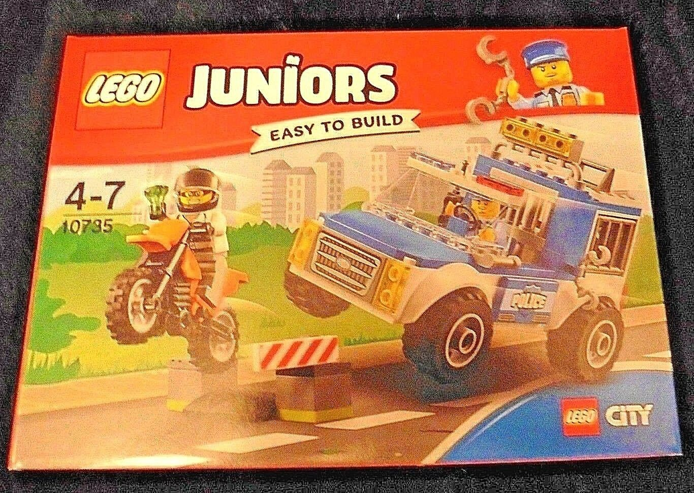 Scellé Neuf Lego 10735 Truck Police Juniors Chase Yb76fgy